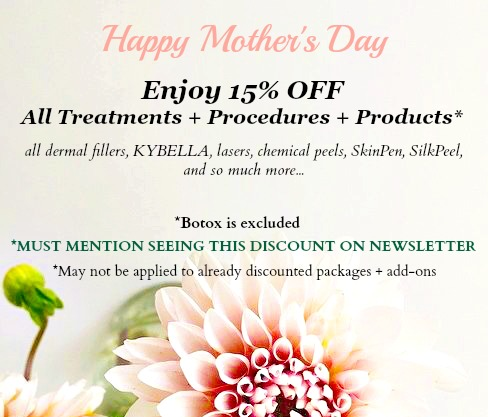 Mother's Day Special 15% Off