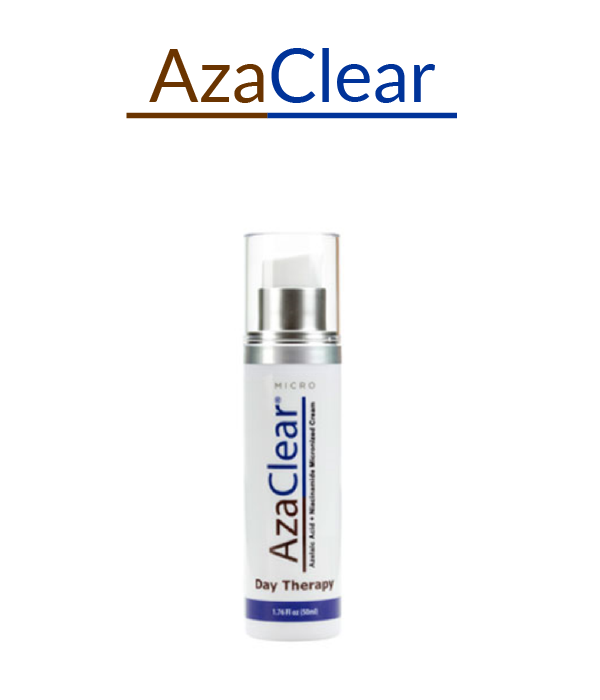 AzaClear Logo and Product