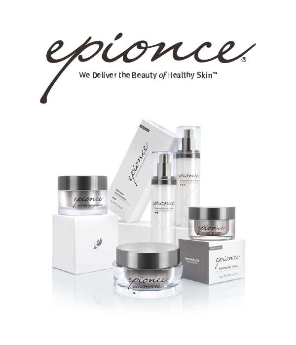 Epionce Logo and Product